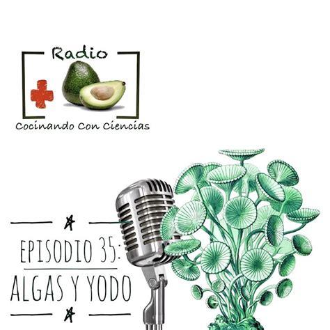 Algas y exceso de yodo en Radio Cocinando con Ciencias