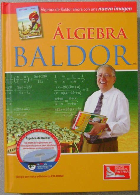 Algebra de baldor nueva edicion pdf