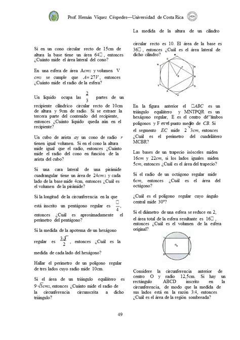 Algebra, Funciones, Geometría y Trigonometría (página 2 ...