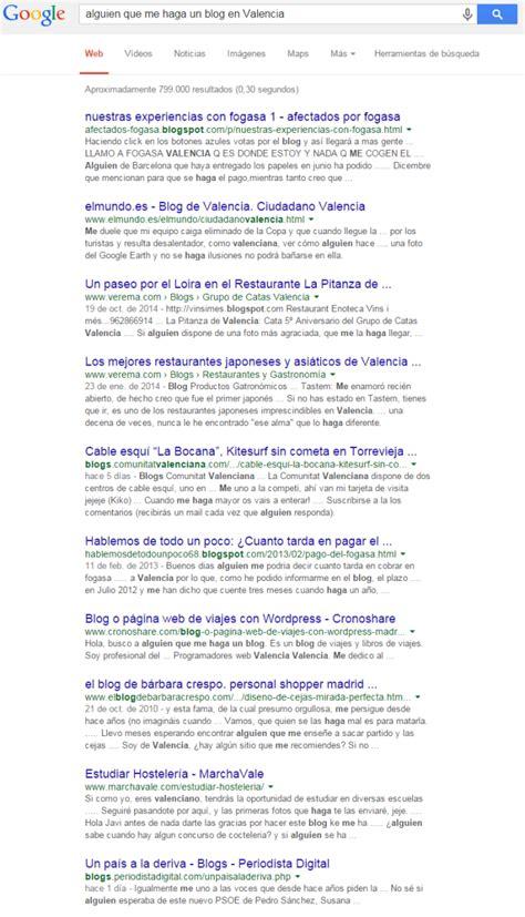 Alguien que me haga un blog en Valencia | Blog WordPress