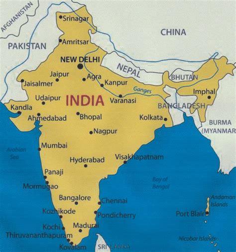 Algunas nociones sobre la India – Hogar de las Niñas