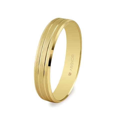 ALIANZA MOD. 5140436. Alianza de boda 4mm oro 5140436
