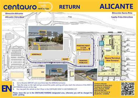 Alicante Airport Map | My blog