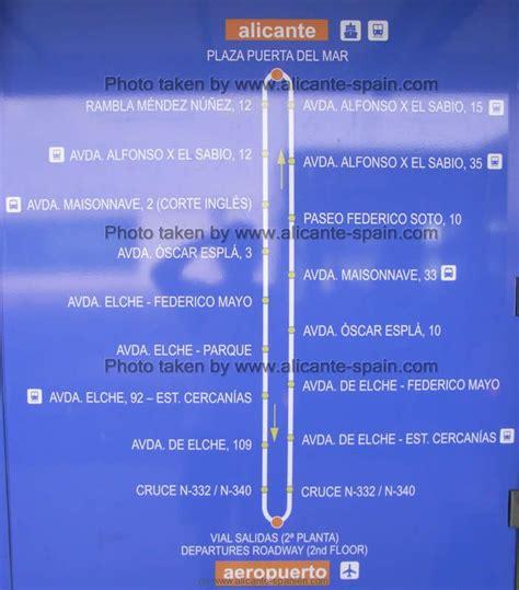 Alicante Flughafen Bus