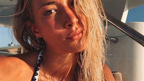 Alice Campello, mujer de Morata, espectacular en bikini ...