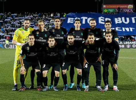 alineación, Leganés, Real Madrid, Copa | Defensa Central