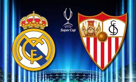 Alineación y la previa Real Madrid-Sevilla: Supercopa 2014 ...