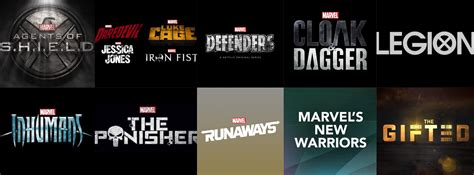All 13 ongoing/upcoming Marvel tv shows! : Marvel