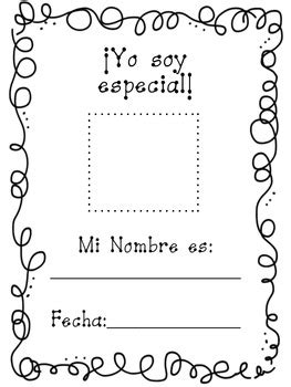 All about me spanish book   Yo soy especial by First Grade ...