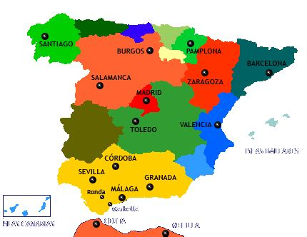 All about Spain: FIESTAS AND FOLKLORE