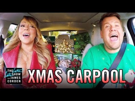All I Want for Christmas  Carpool Karaoke   YouTube