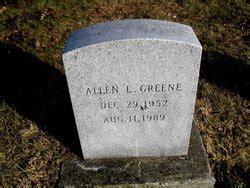 Allen Laine Greene  1952 1989    Find A Grave Memorial