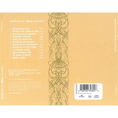 Alma Ranchera   Rocio Durcal mp3 buy, full tracklist