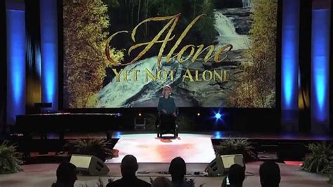 'Alone Yet Not Alone' at NRB 2014 Convention (HD) - YouTube