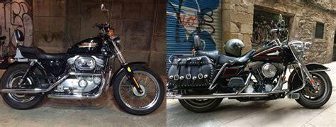 Alquiler moto Harley Davidson - Heart Driven Barcelona Tours
