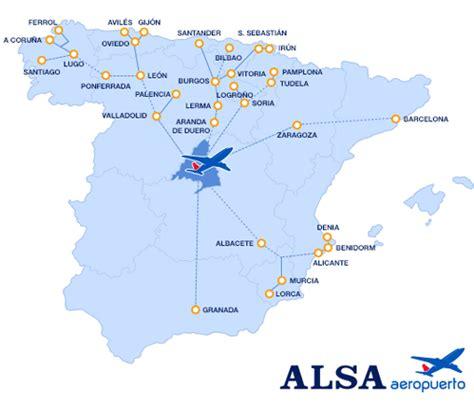 ALSA en las llegadas de la T4 del aeropuerto de Madrid ...