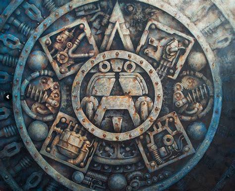 Alta tecnología azteca: el cyberpunk maya de Racrufi ...