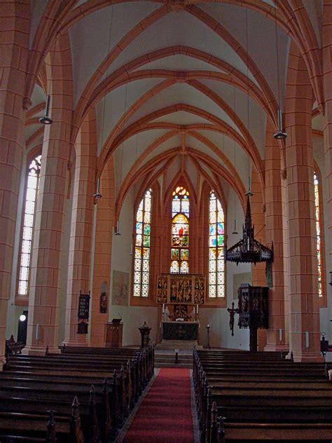 Altenburg in Thüringen, Innenraum der spätgotischen ...