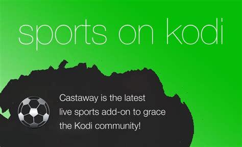 Alternativa SportsDevil Kodi: Castaway sport streaming gratis