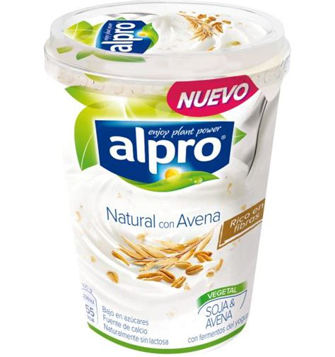 Alternativa vegetal al yogur   Grande   Natural Avena   Alpro