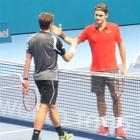 Although Federer did win and will play in the final Stan ...