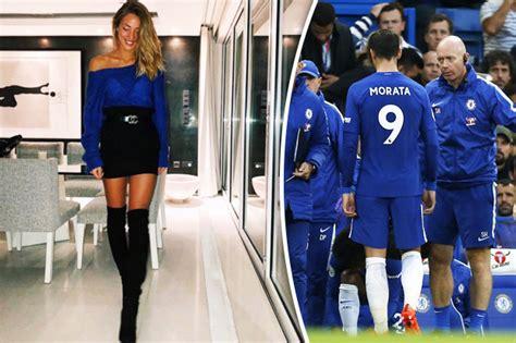Alvaro Morata Chelsea injury: Star's wife posts sizzling ...