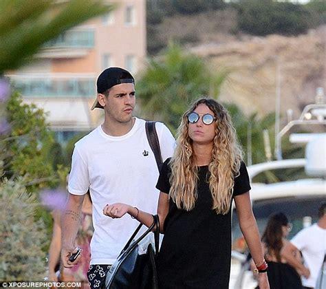 Alvaro Morata takes a break in Ibiza with his girlfriend ...