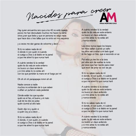 Amaia Montero Chile - ¿Quieres aprender el nuevo single de ...