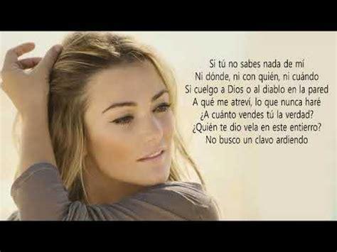 Amaia Montero Nacidos Para Creer lyrics - YouTube