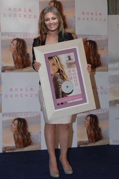 Amaia Montero recibe su doble disco de platino y confirma ...