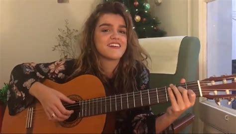 Amaia Romero felicita la Navidad con una jota navarra ...