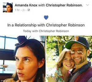 Amanda Knox makes it official with new boy toy Christopher ...