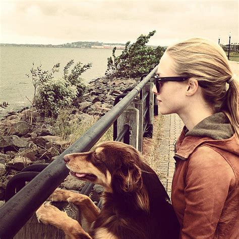 Amanda Seyfried and Her Dog Finn Pictures on Instagram ...