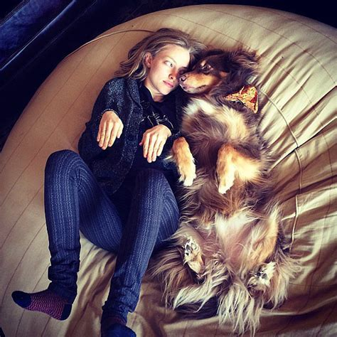 Amanda Seyfried and Her Dog Finn's Instagram Pictures ...