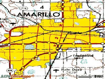 Amarillo, Texas (TX) profile: population, maps, real ...