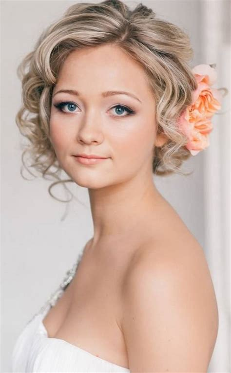 Amazing 18 Wedding Hairstyles for Short Hair Brides ...