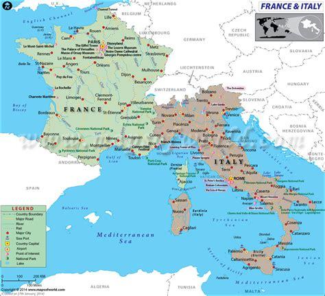 Amazing Map Of Europe Showing Italy – Emaps World
