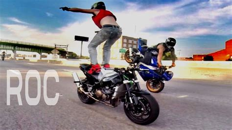 AMAZING Motorcycle STUNTS Streetfighterz RIDE OF THE ...