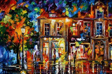 Amazing Oil Paintings by Leonid Afremov | SkitZone