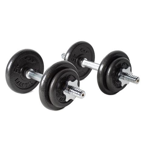 Amazon.com : CAP Barbell 40-pound Adjustable Dumbbell Set ...