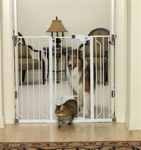 Amazon.com : Carlson Extra Tall Pet Gate, with small pet ...