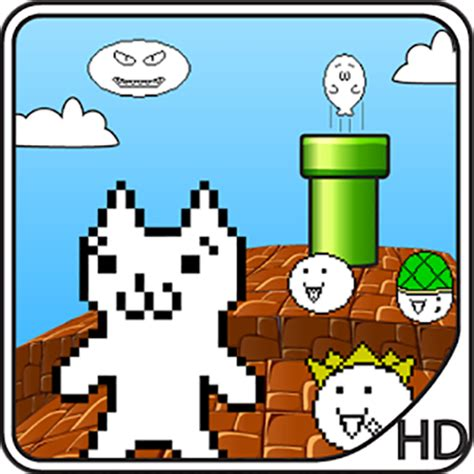 Amazon.com: Cat Mario   Syobon Action: Appstore for Android