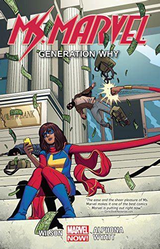 Amazon.com: Ms. Marvel Volume 2: Generation Why (Ms Marvel ...