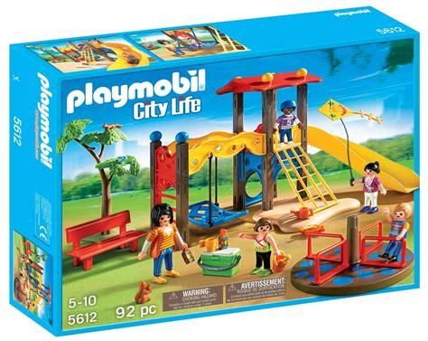 Amazon.com: PLAYMOBIL Playground Set: Toys & Games