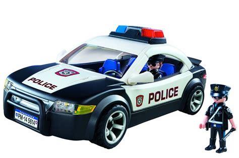 Amazon.com: PLAYMOBIL Police Car Vehicle: Toys & Games ...