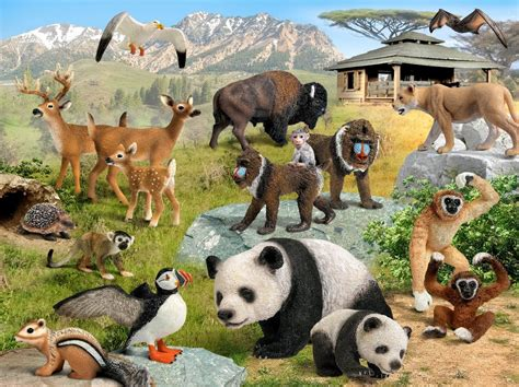 Amazon.com: Schleich Animal Nursery: Toys & Games