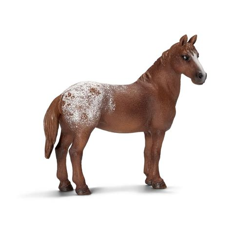 Amazon.com: Schleich Appaloosa Mare Toy Figure: Toys & Games