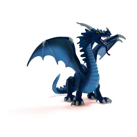Amazon.com: Schleich Blue Dragon Toy Figure: Toys & Games ...