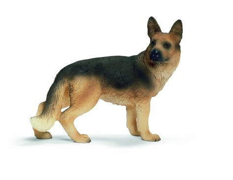 Amazon.com: Schleich Female German Shepherd: Toys & Games