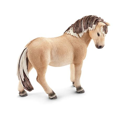 Amazon.com: Schleich Fjord Horse Mare Toy Figure: Toys & Games